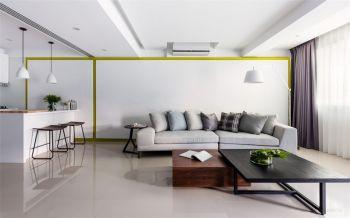 6万装修预算90平米两室一厅装修设计图
