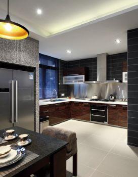 完美厨房装潢效果图