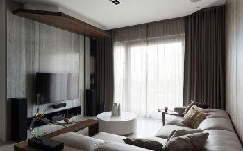 现代简约风格168平米三居室新房装修效果图