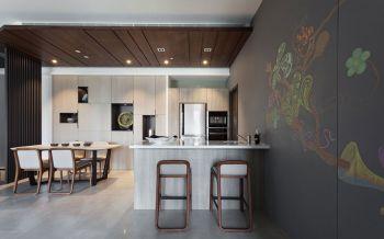 唯美厨房小户型现代简约设计方案