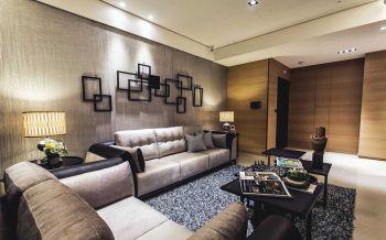 现代简约风格80平米两室一厅装修效果图