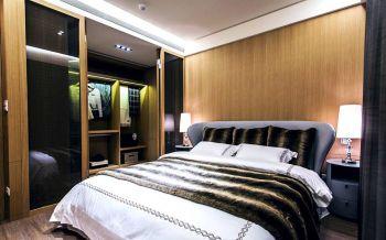卧室黄色现代简约风格装潢设计图片