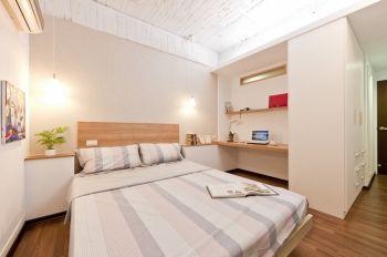 现代简约风格90平米两室两厅房屋装修效果图