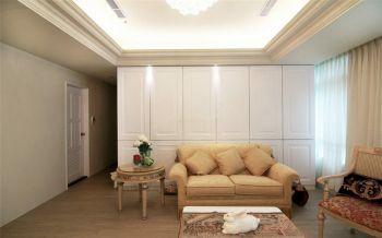 2021欧式110平米装修图片 2021欧式三居室装修设计图片