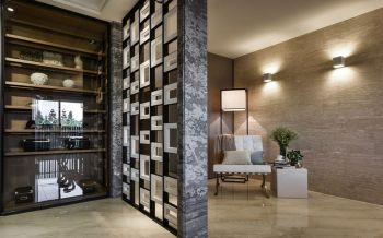 简约风格110平米三居室新房装修效果图