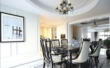 餐厅白色新古典风格装饰图片
