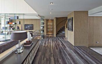 现代古典风格150平米汇景新城别墅装修效果图