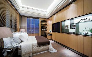卧室黄色现代简约风格装饰设计图片