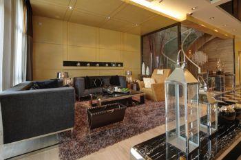 现代风格160平米豪华别墅装修效果图