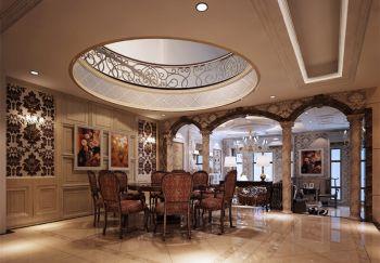 餐厅现代中式风格装饰效果图