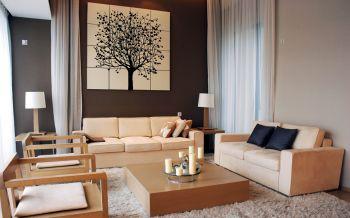 韩式风格160平米三居装修效果图