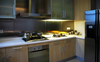 厨房韩式风格装潢效果图