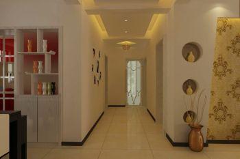 走廊现代简约风格装修设计图片