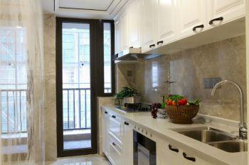 厨房现代简约风格装潢设计图片