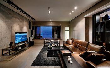 客厅现代中式风格装修图片