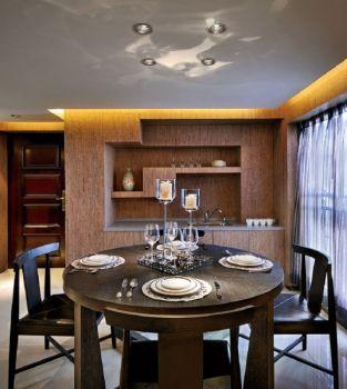 餐厅现代中式风格装潢图片