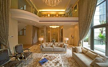 客厅沙发欧式风格装修图片