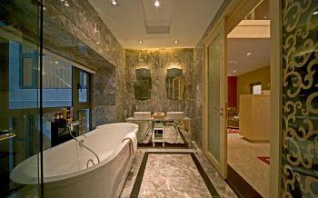 卫生间浴缸欧式风格效果图