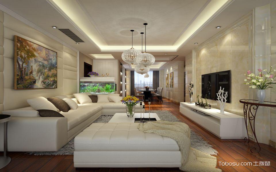 现代风格装修客厅效果图,打造与众不同的家图片