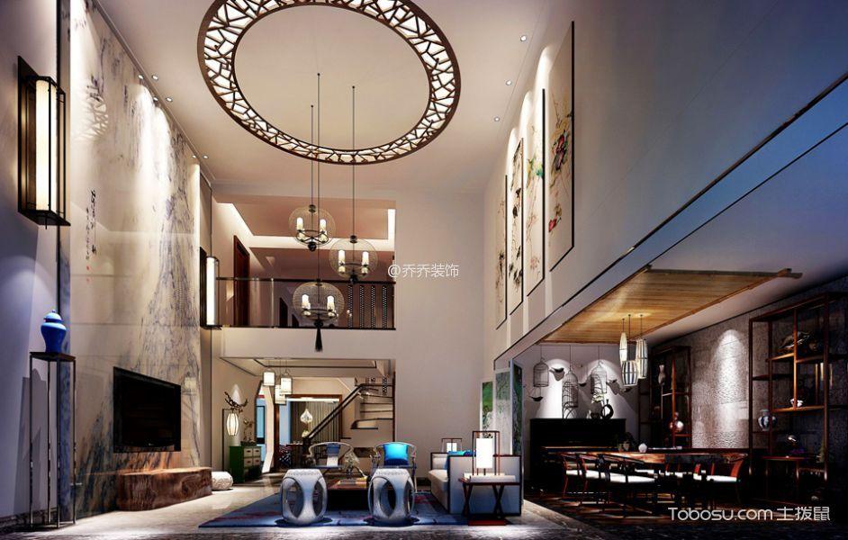 2021简中150平米效果图 2021简中别墅装饰设计