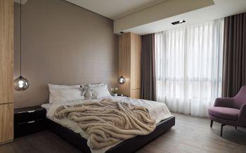 卧室现代简约风格装饰图片