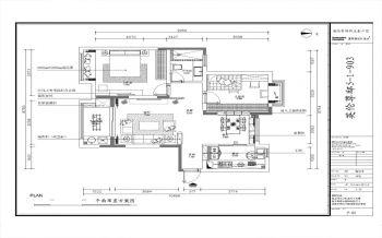 客厅白色背景墙现代简约风格装修设计图片