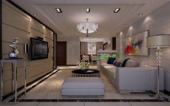 5万装修预算90平米两室一厅装饰图片欣赏