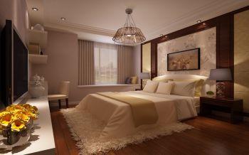 卧室黄色飘窗现代简约风格效果图