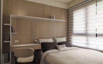 卧室白色现代简约风格装修设计图片