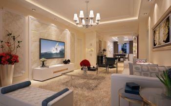 6.5万装修预算140平米三室两厅装修设计图