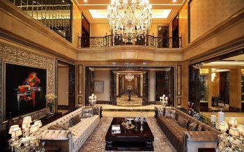 欧式风格160平米豪华复式装修效果图