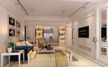 5.5万装修预算90平米两室一厅装修设计图
