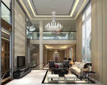 现代风格160平米两层楼房装修案例效果图