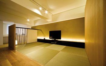日式风格60平米精巧一居室装修效果图