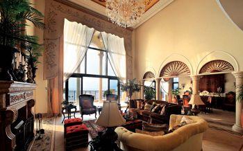 美式风格160平米南澳世纪庄园主别墅装修效果图