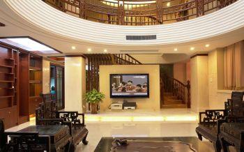 中式古典风格120平米风雅别墅装修效果图