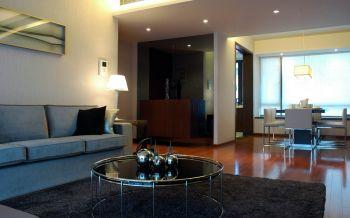 华润花园现代简约风格70平米两居装修效果图