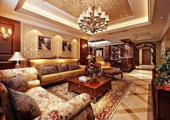 15万装修预算120平米三室两厅装潢效果图欣赏