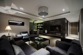 8万装修预算120平米三室两厅装潢效果图欣赏