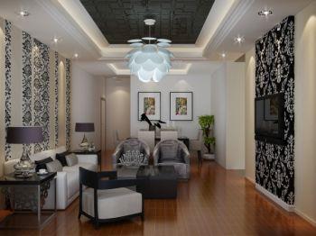 3.8萬裝修預算90平米樓房裝修設計圖