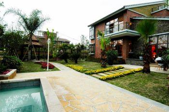 中式风格160平米别墅装修案例图