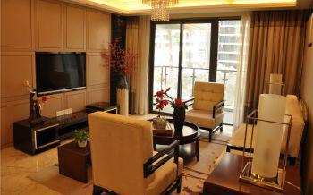温馨舒适现代风格三居室装修效果图