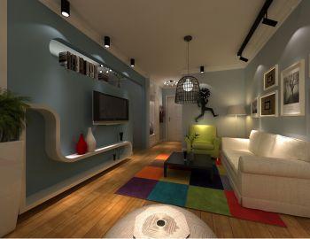 现代简约风舒适公寓装修效果图