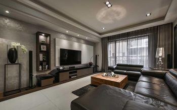 现代风格豪华三居室装修效果图