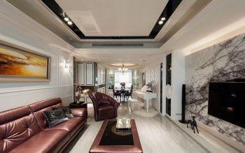 现代简欧风格两居室装修效果图