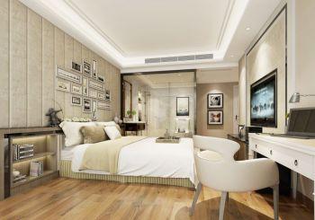 现代中式风格大户型家居装修案例效果图
