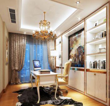 四居室家庭现代欧式装修效果图