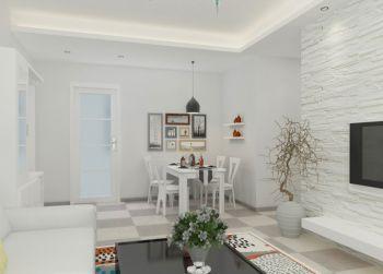白色韩式小户型家居装修效果图