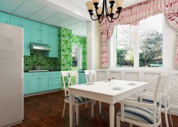 欧式田园风格60平米1房1厅房子装饰效果图