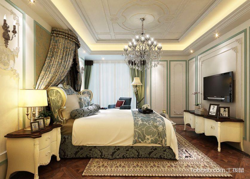 2020法式80平米设计图片 2020法式二居室装修设计